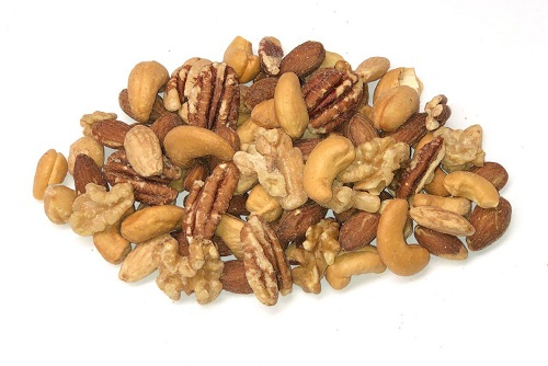 Dry Roasted Deluxe Mixed Nuts Salted
