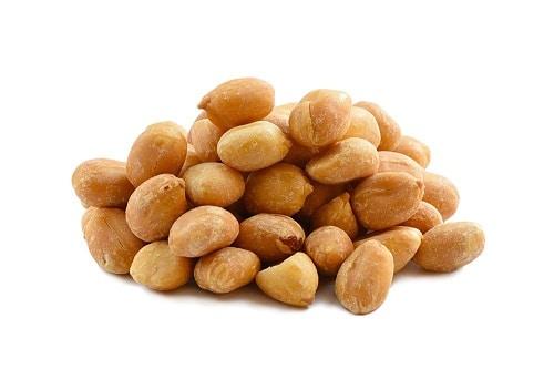 dry salted peanuts