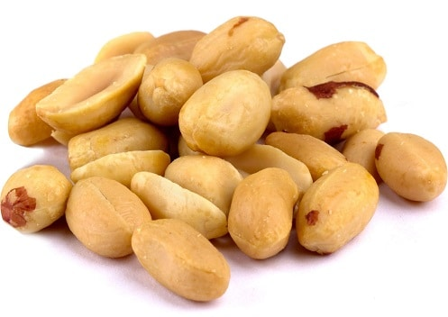 roasted unsalted peanuts